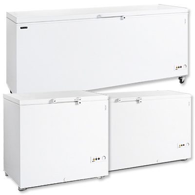 Solid Top Chest Freezers